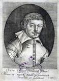 John Bate, English author, c 1635.