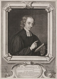 Reverend William Whiston, English clergyman, 1720.