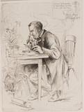 Alexander Dickinson, botanist, 1884.