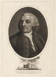 Benjamin Franklin, American theorist on static electricity, mid-18th century.