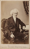 Sir John Herschel, English astronomer and scientist, 1866-1871.