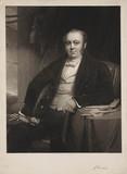 George Hudson, English railway chairman,  c 1850.