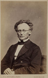 Jon Iapetus Smith Steenstrup, Norwegian zoologist, c 1870s.