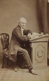 William Crawford Williamson, English naturalist, 1863.