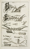 Jethro Tull's four-coultered plough, 1733.