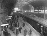 Paddington station,  London, 11 November 1919.