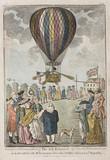 Lunardi's balloon ascent, 15 September 1784.