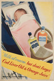 'Milk of course', poster, c 1950.