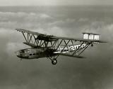 HP42 G-AAGX 'Hannibal' in flight, 1930.