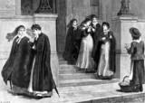 'A constutional after a night's nursing', 1890.