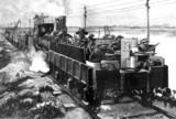 Armoured train, Egypt, 1882.