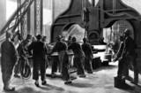 Making gun barrels using the Armstrong method, Shanghai, 1883.