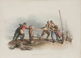 'Fishermen at a Capstan', 1808.