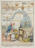 'The Disolution' or 'The Alchymist producing an aetherial Representation', 1796.