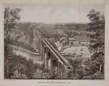 'View of the High Bridge, New York', United States, 1861.