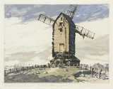 Windmill, Winchelsea, East Susex, 19th century.