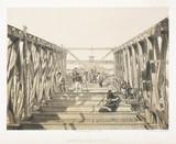 'Laying Bottom of Tube', Victoria Bridge, Canada, 1860.