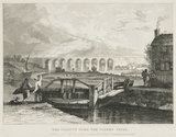 'The Viaduct over the Sankey Canal', Warrington, 1831.