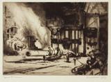 """'Parkhead Forge', Glasgow, Scotland, c 1924."""