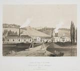 Zinc and lead factories, Prayou, Belgium, 1830-1860.