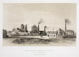 De la Cosette Coalmining Company, Belgium, 1830-1860.