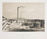 Phoenix Co Ltd's foundry and construction workshops, 1830-1860.