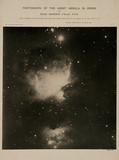 Great Orion Nebula (M42), 4 February 1889.