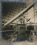 36 inch Lick telescope, Lick Observatory, California, USA, 1915.