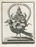 The Hindu god Sani, 1774-1781.
