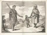 'Kaffirs', Africa, 1774-1781.