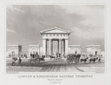 'London & Birmingham Railway Terminus - Euston Square', 1845-1860.