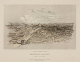 'Greenwich Railway: Bird's eye View', 19th century.