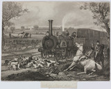 'Hold Hard There', 1850.