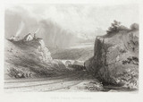 'View near Whitmore', 19th century.