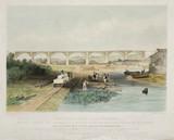 'The Willington Dean Viaduct', 1838.