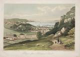 'Bangor, from Perfeddgoed Road', Wales, 1850.