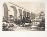 The Dutton Viaduct, River Weaver, Cheshire, 1848.