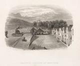'Railway Station at Newtyle', Scotland, mid 19th century.