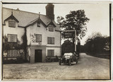 Motor car parked outside a hotel, Sandiway, Northwich, Cheshire, c 1912