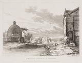 'Newton Church and Village', Merseyside, 1831.