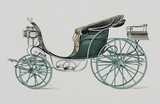 Park phaeton, 1906.