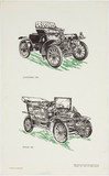 """Oldsmobile, 1904 and Spyker, 1905."""