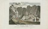 'Lord Penryn's Slate Quarry' near Bangor, North Wales, 1808.