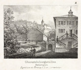 Entrance to a salt mine, Durrnberg, Austria, 19th century.