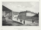 George's Street, Sydney, New South Wales, Australia, 1826-1829.