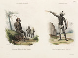Men from New Ireland and Fiji, 1826-1829.