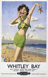 'Whitley Bay', BR poster, 1948-1965.