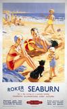 'Roker and Seaburn', BR poster, 1953.