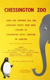 'Chesington Zoo', BR(SR) poster, 1956.