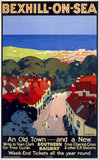'Bexhill-on-Sea', SR poster, 1928.